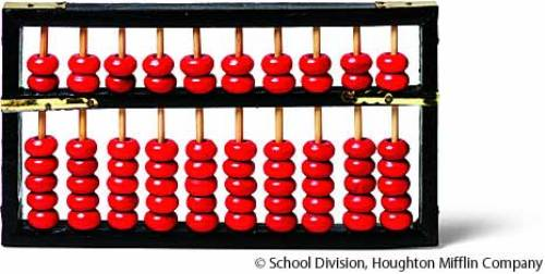 Abacus Red