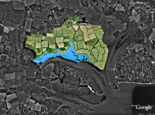 Abbotts Hall Farm Map