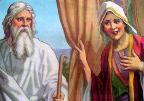Abraham and Sarah Images