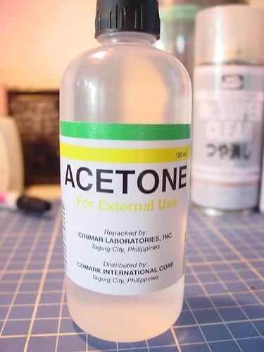 Acetone Pic