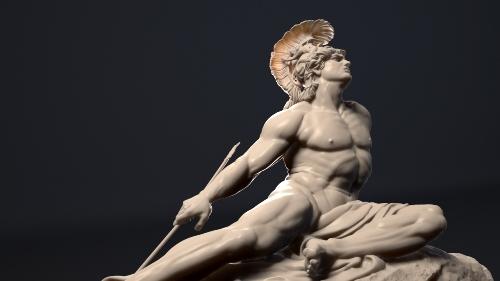 Achilles Statue
