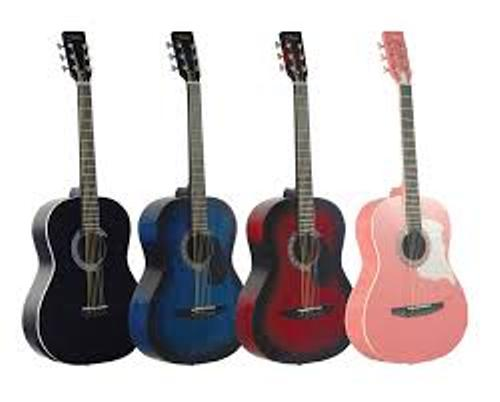 Acoustic Guitars Colors