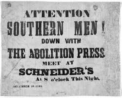 Facts about Abolitionists