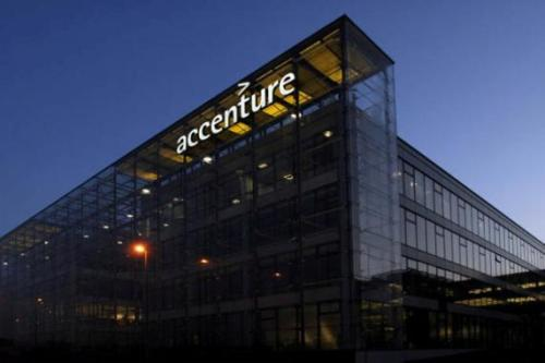 accenture at night