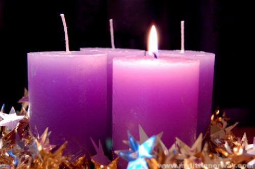 Advent in Purple