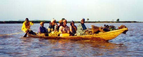 African Life in River