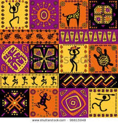 African patterns art - photo#20