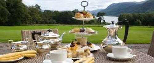 Afternoon Tea Outdoor