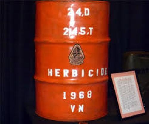 Agent Orange barrel