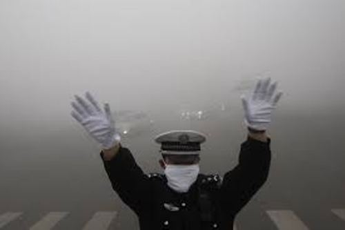 Air Pollution in China Pic