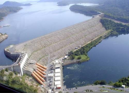 Akosombo Dam facts
