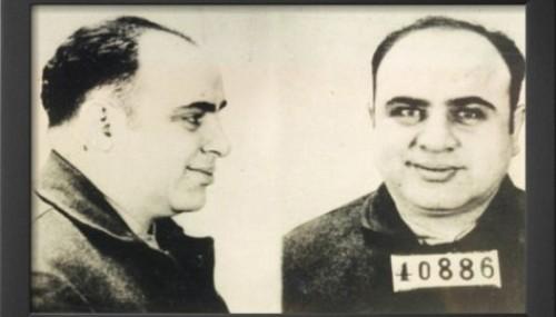 Al Capone In Jail