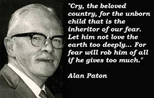 Alan Paton Fame