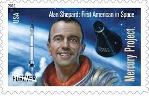 Alan Shepard Stamp