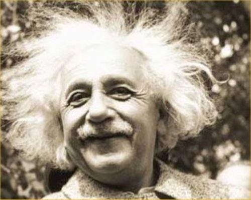 Albert Einstein Hair
