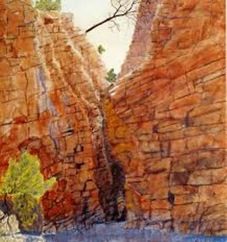 Albert Namatjira Painting