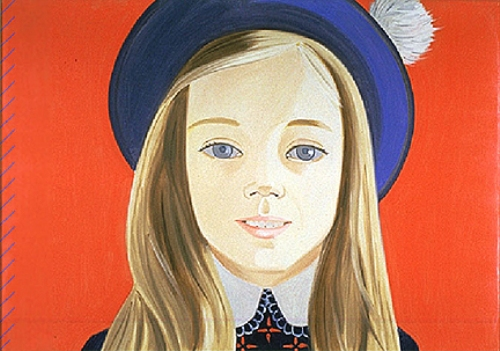 Alex Katz Painting