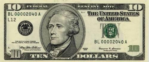 Alexander Hamilton Dollars