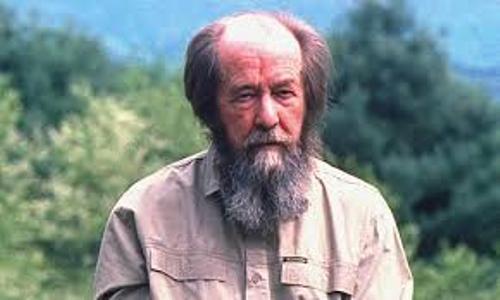 Alexander Solzhenitsyn Image