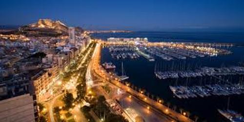 Alicante at Night