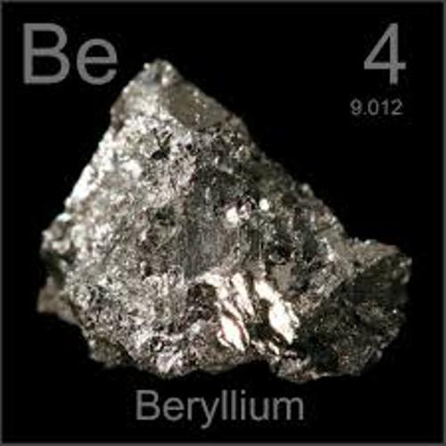 Alkaline Earth Metals Be