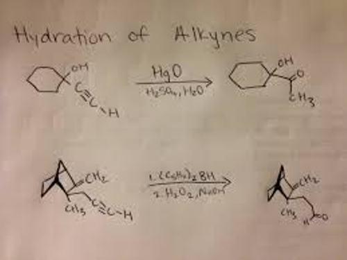 Alkanes Hydration