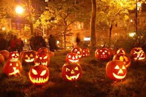 All Hallows' Eve pumpkin