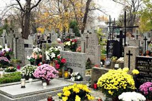 All Saints' Day Graves