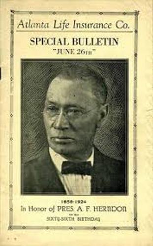 Alonzo Herndon Book