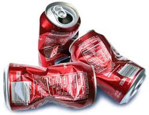 Aluminum Can Red