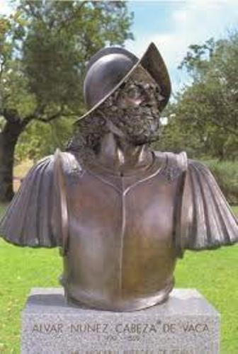 Alvar Nunez Cabeza de Vaca Statue