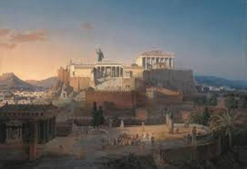 Ancient Athens Pic