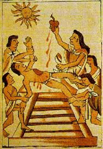 Ancient Aztecs Sacrifice