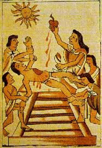 Ancient Aztecs Sacrifice