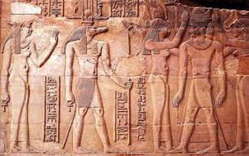 Ancient Egypt God Sclupture