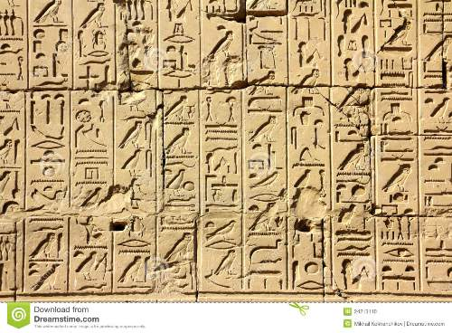 Ancient Egypt Hieroglyphics Facts