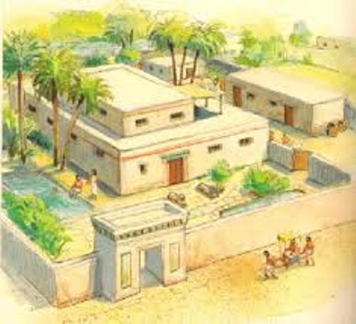 Ancient Egypt Housing