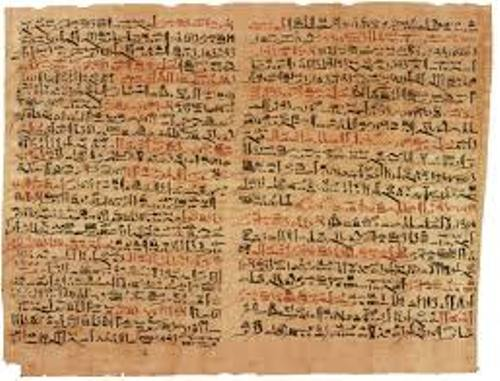 Ancient Egyptian Medicine Text