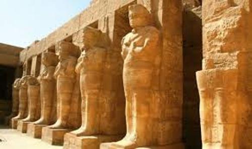 Ancient Egyptian Pharaoh Statues