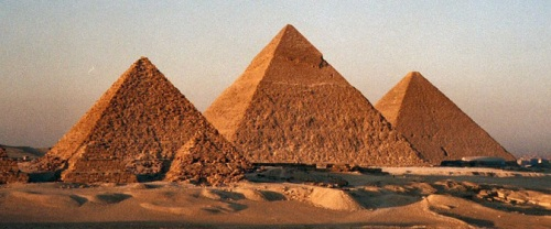 Ancient Egyptian Pyramid Image