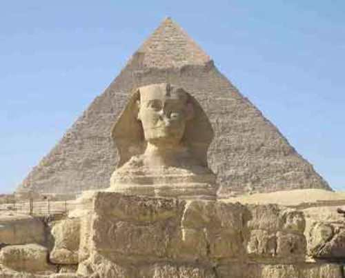Ancient Egyptian Pyramid Pic