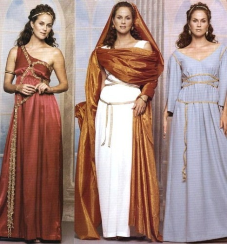 Ancient Greece Clothing Pic