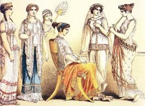 Ancient Greece Clothing Style