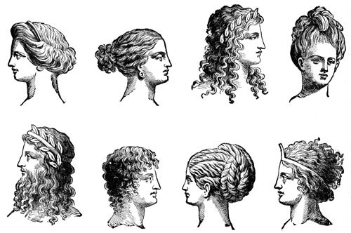 Ancient Greece Clothing and Hair