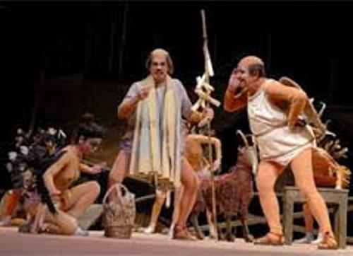 Ancient Greek Drama Image