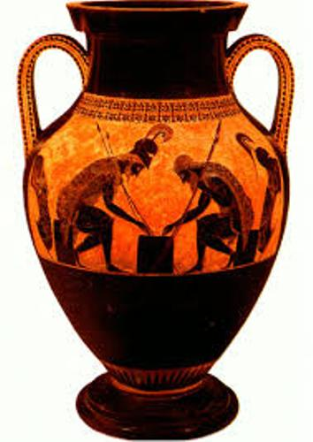 Ancient Greek Pottery Color