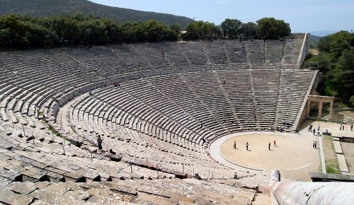 Ancient Greek Theatre Pic
