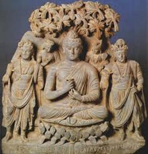 Ancient India Statue