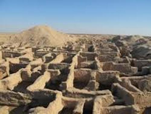 Ancient Mesopotamia Ruins