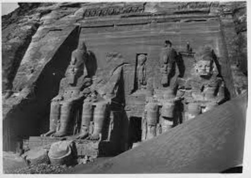 Ancient Nubia Ruins